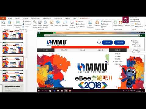 BMM Presentation Video