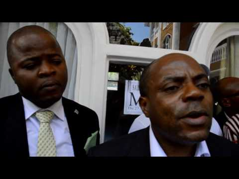 Prince Willy MISHIKI Vice  Ministre National de l'Energie à Goma le 26 Mars 2016  reportage   Musafi