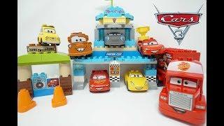 Дісней Тачки 3 іграшки Лего Дупло машинки для дітей