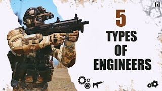 Warface 5 types of the engineer