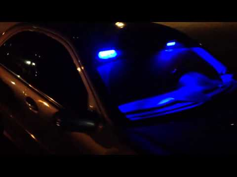 Unmarked Mercedes w/ Police Lights