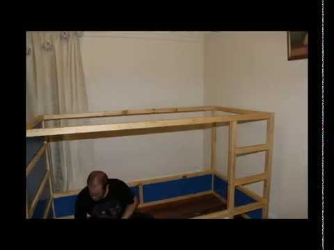 Fatboy V Ikea Kura Bed YouTube