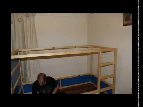 Fatboy V Ikea  Kura Bed  YouTube