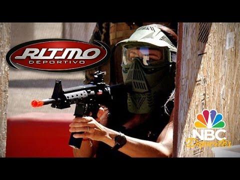 Guerra Airsoft | Ritmo Deportivo | NBC Deportes
