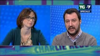 Salvini Insulta Quartapelle Ma Sa Che Lei è Squallida