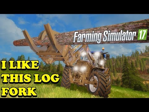 Farming Simulator 17 | The Abandoned Forest | Timelapse | Episode 15 | I LIKE THIS LOG FORK thumbnail