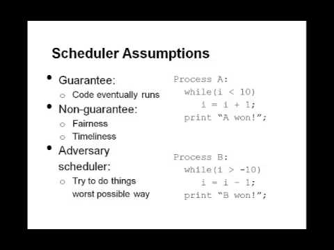Lecture 1, unit 1: Introduction to Concurrency