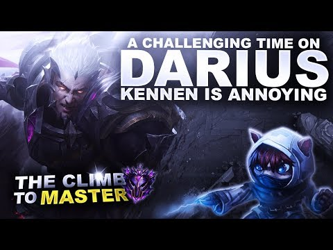 A CHALLENGING TIME ON DARIUS! - Climb to Master S9 | League of Legends thumbnail