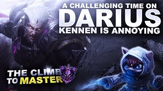A CHALLENGING TIME ON DARIUS! - Climb to Master S9 | League of Legends