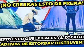 ¡ EN VIVO DESDE EL ZOCALO ! MEXICANOS HARTOS DE FRENA