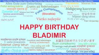 Bladimir   Languages Idiomas - Happy Birthday