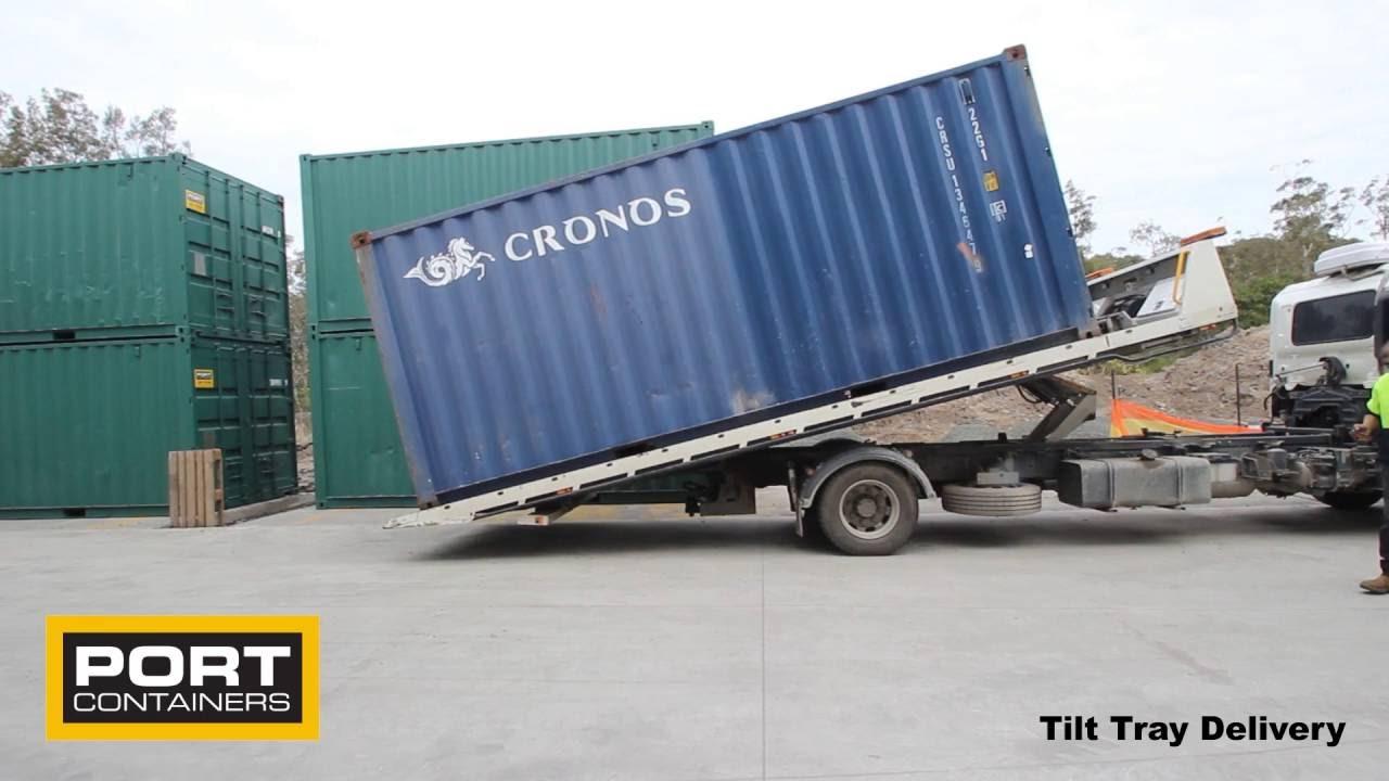 Tilt Bed Truck Delivery