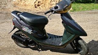 Обзор Honda Dio AF28ZX (нормальный)