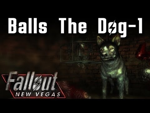 Fallout New Vegas Mods: Balls The Talking Dog! - Part 1