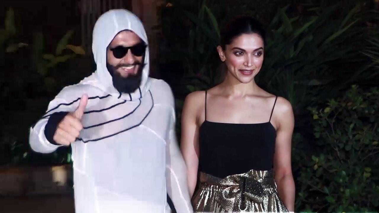 Deepika Padukone & Ranveer Singh At Shahid Kapoor's ...