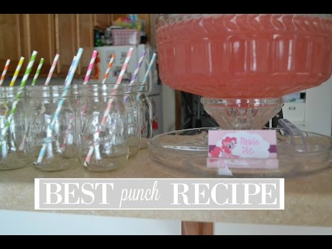 Best Punch Recipe | The Dodge Family