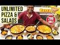 Eatza Pizza Nungambakkam | Unlimited Pizza Buffet | Saapattu Piriyan | Chennai | Video Shop