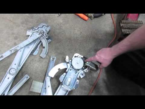 How To Fix Window Regulator And Motor On Discovery Series II