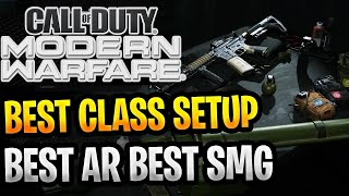 MY BEST MODERN WARFARE CLASS SETUPS ASSAULT RIFLE & SMG CLASS SETUPS