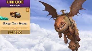 Grump (Gobber's Dragon) Max Level 150 Titan Mode - Dragons:Rise of Berk