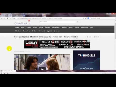 Hogyan kell bekapcsolni a magyar feliratot az OnlineFilmek.tv-n videó letöltés