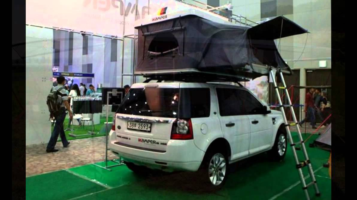 Ikamper Hardtop One Tent Expands For Roomy Car Top Camping