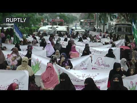 Jamaat-e-Islami women's wing in Pakistan demands state hijab law