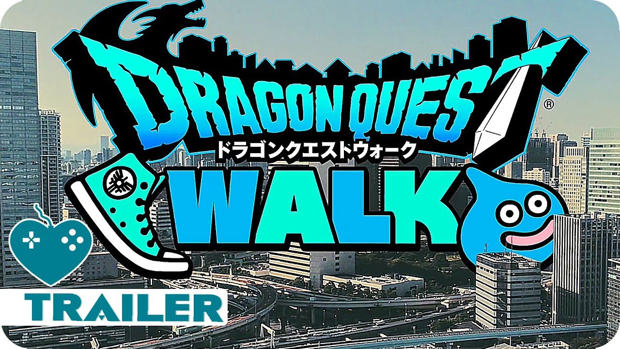 Dragon Quest Walk Trailer 2019 Vr Mobile Game Youtube