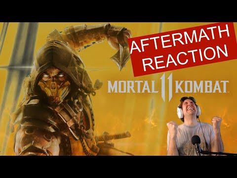 Mortal Kombat 11: Aftermath REACTION |