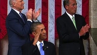 Obama salutes Afghanistan war hero in State of the Union