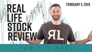 Real Life Stock Review - February 4th, 2019