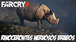 Far Cry 4 Piratas Caçadores - Rinocerontes NERVOSOS BRABOS