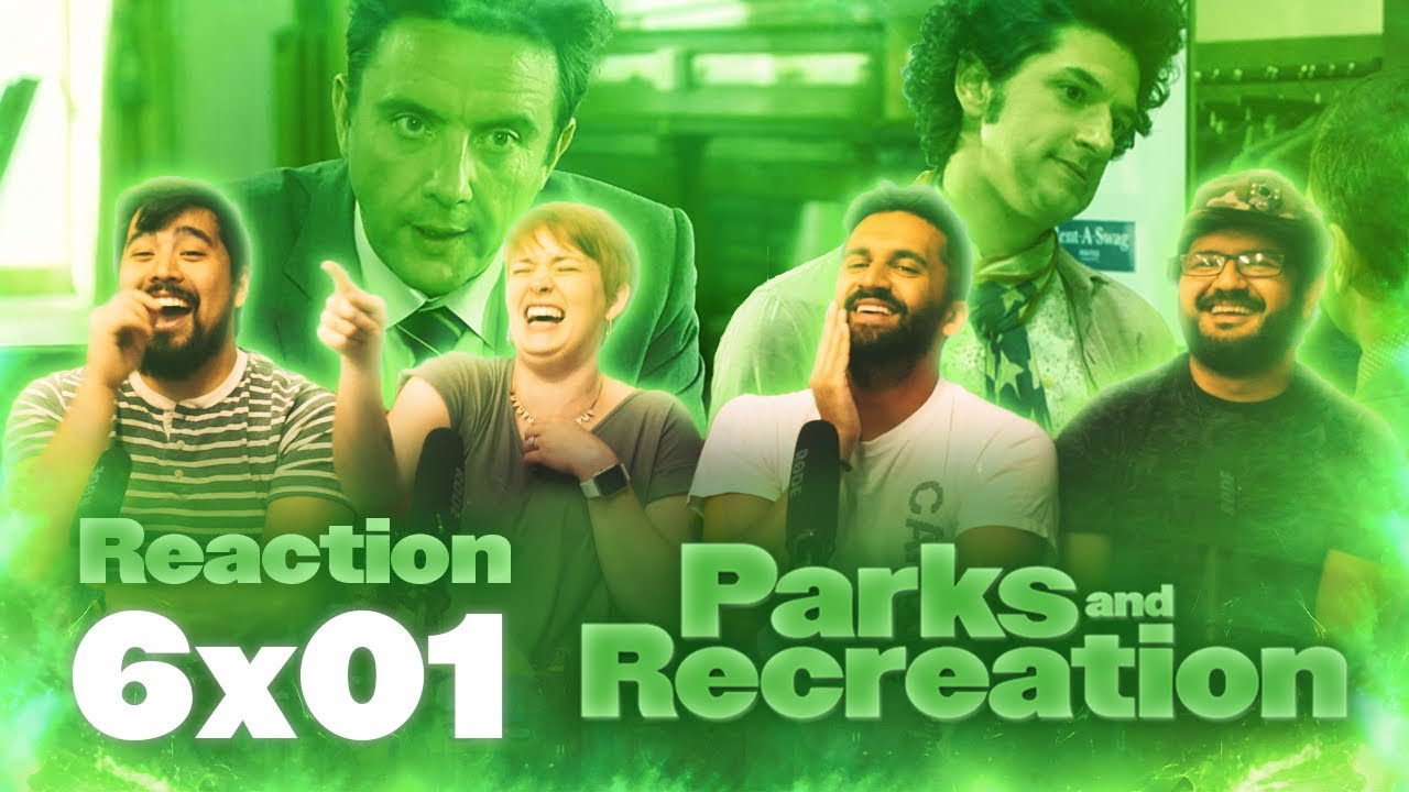Download Parks and Recreation - 6x1 London: Part 1 - Group Reaction