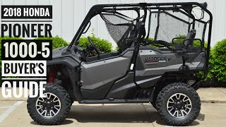 2018 Honda Pioneer 1000-5 Model Lineup Explained / Differences | UTV / Side by Side Buyer's Guide