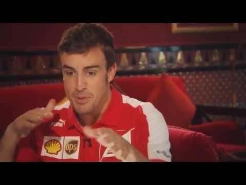 BBC Sport F1 2013 - The 200 Club - Mark Webber & Fernando Alonso