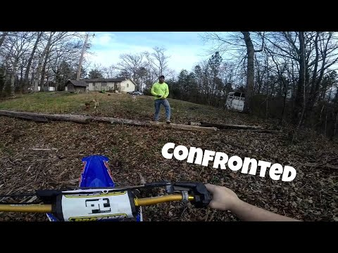 Man Stalks Me While Riding Dirtbike *CONFRONTED*
