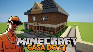 Minecraft: Como construir a casa do CJ (GTA San Andreas)