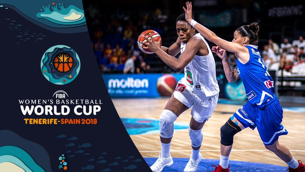 France v Greece - Highlights - FIBA Women s Basketball World Cup 2018 8e6efc6253