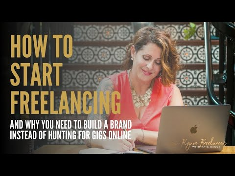 Why you should build a freelance brand instead of selling your skills
