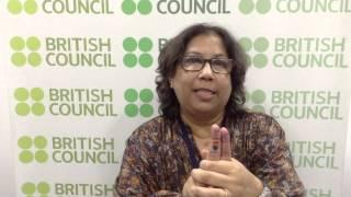 I, Ally Campaign (325) - Sujata Sen from the British Council, Kolkata - English