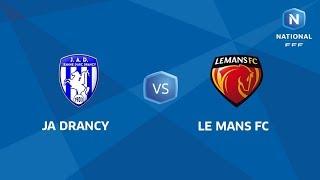 J12 : JA Drancy - Le Mans FC I National FFF 2018-2019