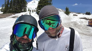 Mt. Hood Summer Snowboarding Q&A with Kevin and TJ