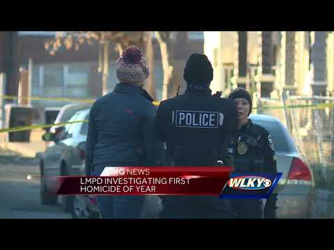 LMPD investigating first homicide of year