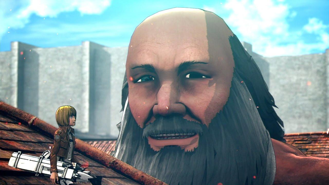 Attack on Titan Reaction Season 2 Episode 1 - Bigfoot