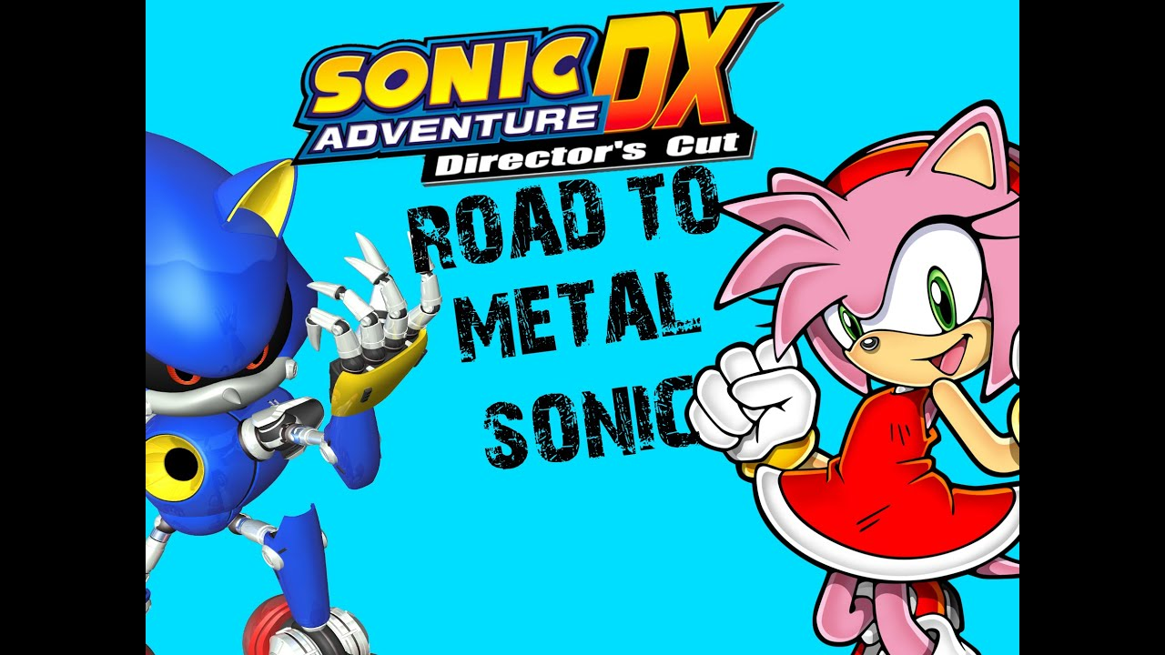 Sonic Adventure DX - Road to metal Sonic #14 PS3 (Amy's Story)