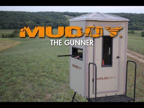 Muddy Gunner Box Blind Youtube