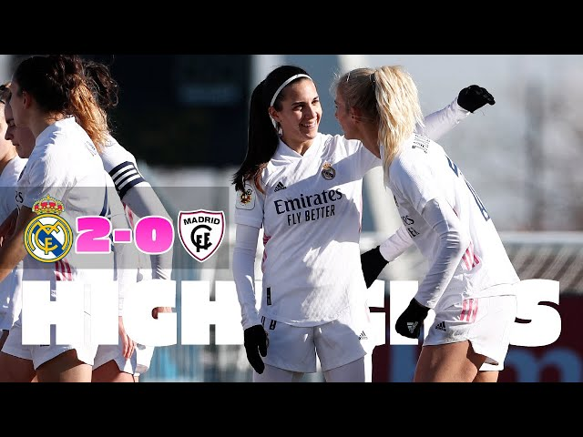 📺 HIGHLIGHTS | Real Madrid 2-0 Madrid CFF | Primera Iberdrola