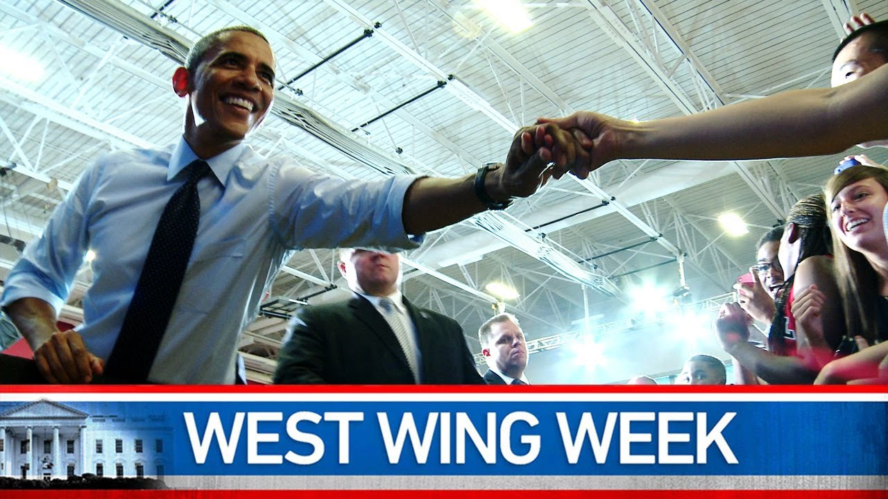 West Wing Week: 07/26/13 or Becoming A More Perfect Union