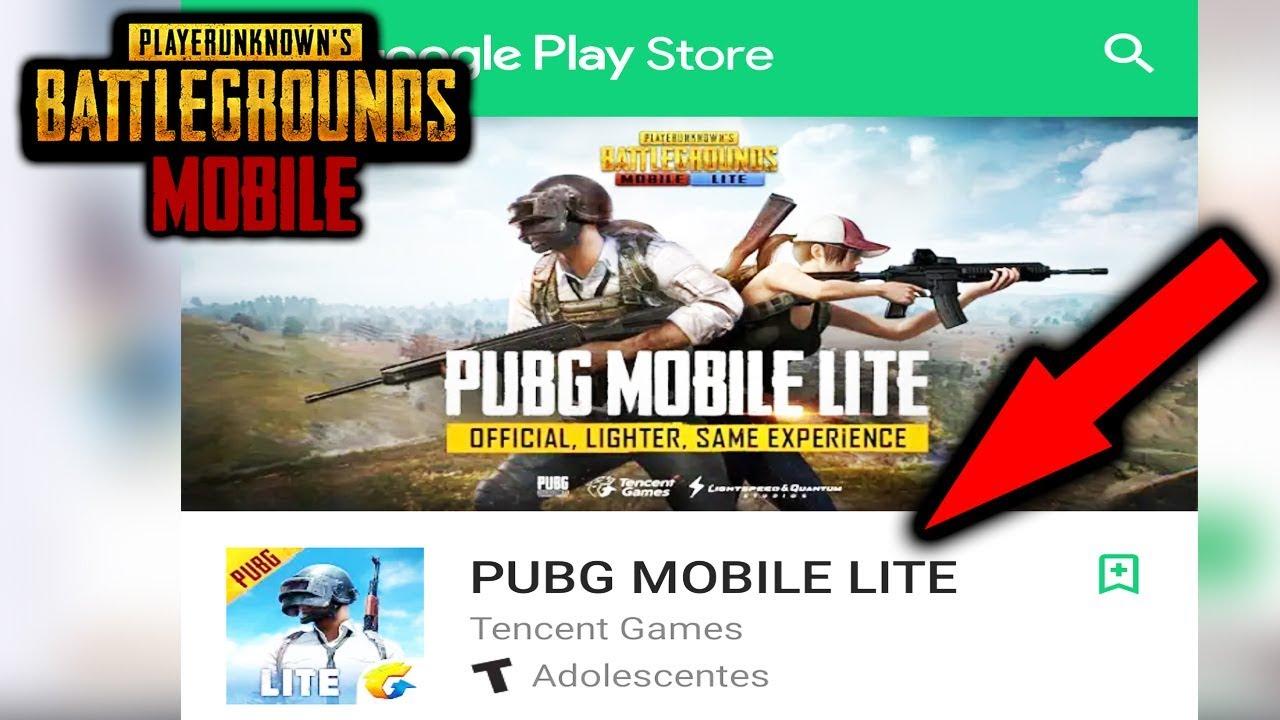 APK* Y Como Instarlar PUBG MOBILE LITE!! 😮
