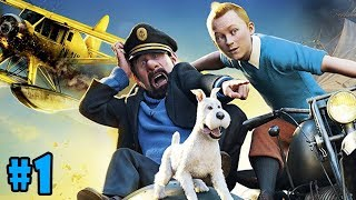 The Adventures of Tintin - Walkthrough - Part 1 - The Flea Market (PC HD) [1080p60FPS]